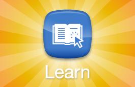 Logotipo da ferramenta digital Learn