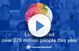 Vídeo mostrando o serviço dos Leões.