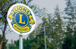 Lions Clubs International logo decal