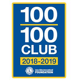 Écusson Club 100 l 100