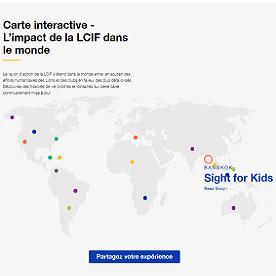 Carte interactive de la LCIF