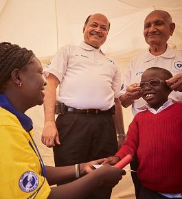 Os Leões do Quênia dão informações sobre o diabetes