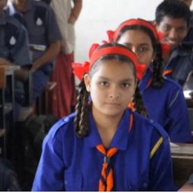 Os alunos em Bangladesh estão experimentando uma aprendizagem social e emocional graças a um subsídio de LCIF.